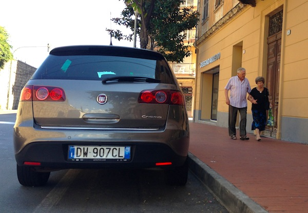 Fiat Croma Italy August 2013