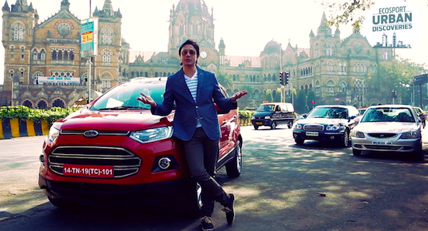Ford Ecosport India July 2013. Picture courtesy of rushlane.com