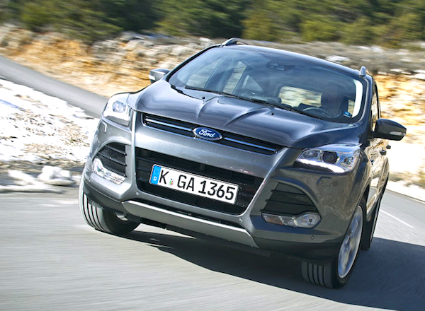 Ford Kuga Switzerland July 2013. Picture courtesy of autobild.de