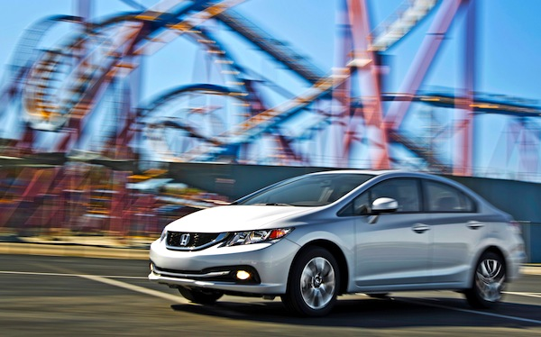 Honda Civic California December 2013. Picture courtesy of motortrend.com
