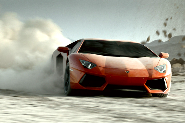 Lamborghini Aventador. Picture courtesy of dexigner.com