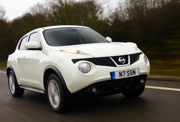 Nissan Juke Scotland July 2013