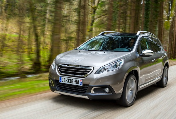 Peugeot 2008 France May 2015