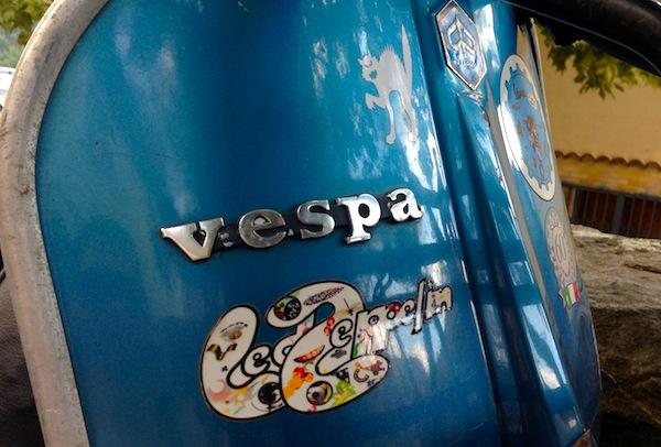 Piaggio Vespa Italy August 2013
