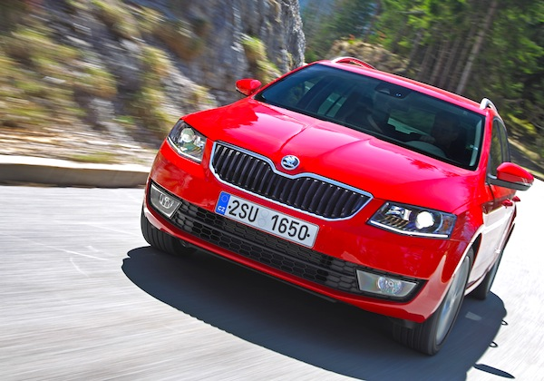 Skoda Octavia Croatia March 2014