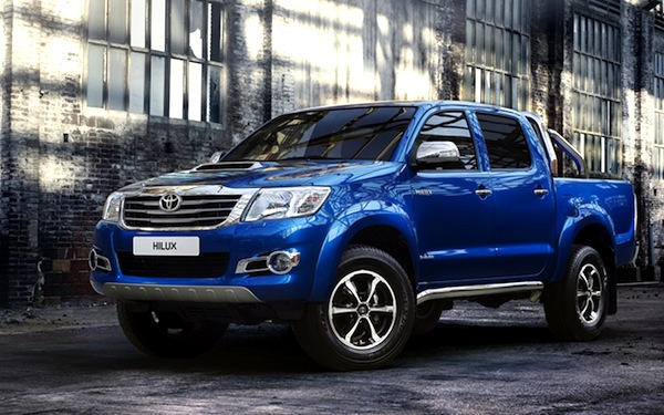 Toyota Hilux Thailand November 2013. Picture courtesy of drivearabia.com