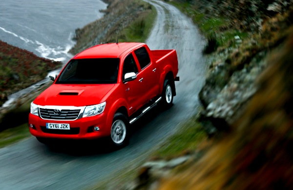 Toyota Hilux South Africa February 2014. Picture courtesy of Flickr