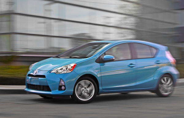 Toyota Prius C California June 2013. Picture courtesy of www.motortrend.com