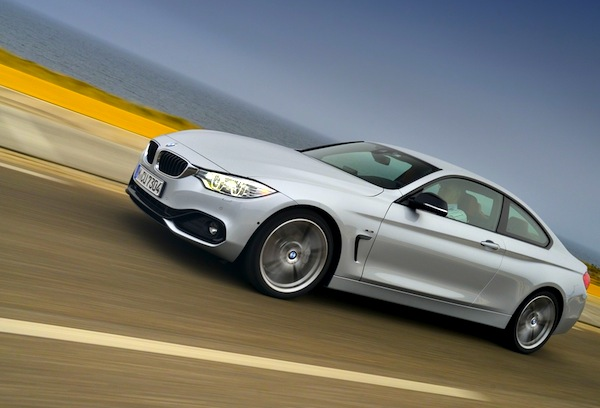 BMW 4 Series. Picture courtesy of largus.fr