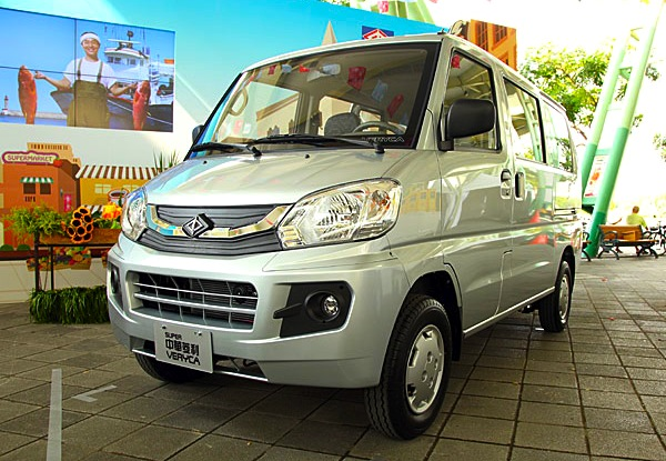 CMC Veryca Taiwan March 2015. Picture courtesy of news.u-car.com.tw