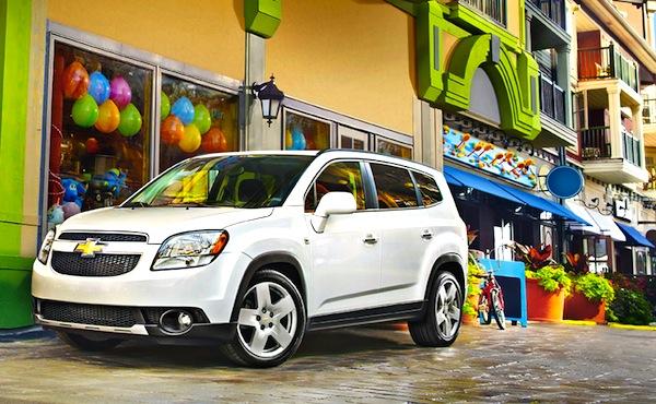 Chevrolet Orlando Venezuela August 2013