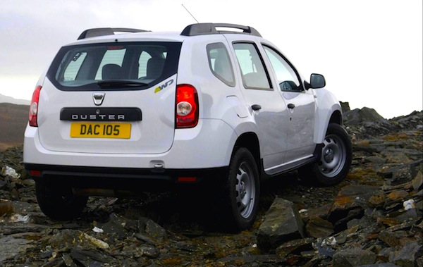 Dacia Duster Ireland August 2013. Picture courtesy of frontseatdriver.co.uk