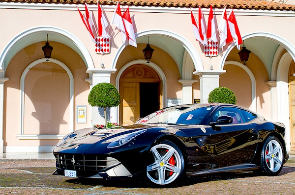Ferrari F12 Monaco 2013. Picture courtesy of Raphael Belly