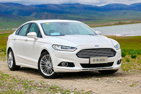 Ford Mondeo China June 2014. Picture courtesy of autoifeng.com