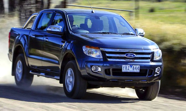 Ford Ranger New Zealand April 2014. Picture courtesy of carsguide.com.au