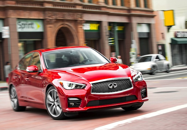 Infiniti Q50 USA August 2013. Picture courtesy of motortrend.com
