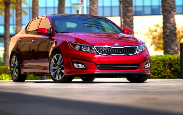 Kia Optima Kuwait July 2013. Picture courtesy of almrsal.com