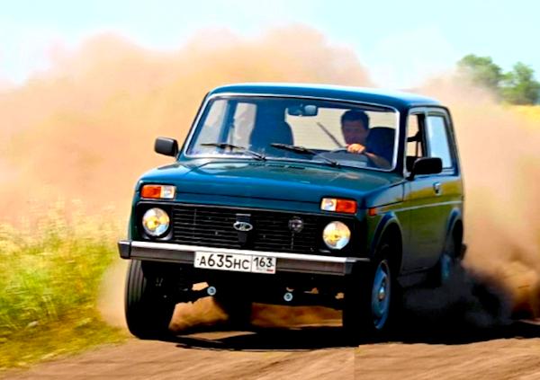 Lada 4x4 Russia March 2015