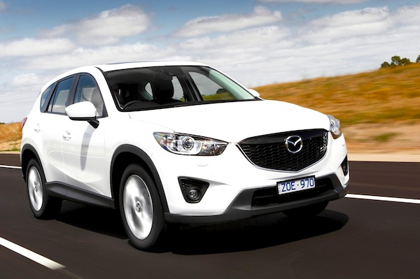 Mazda CX-5 Australia August 2013. Picture courtesy of caradvice.com.au