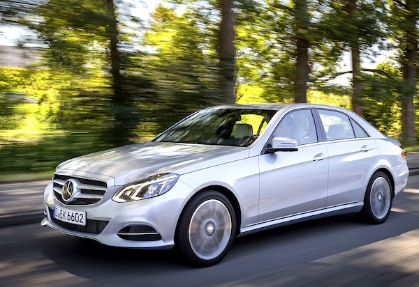 Mercedes E Class Germany July 2014