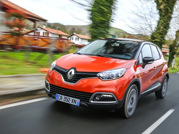Renault Captur Europe June 2014. Picture courtesy of largus.fr