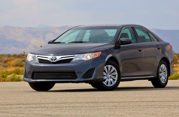 Toyota Camry Saudi Arabia August 2014. Picture courtesy of motortrend.com