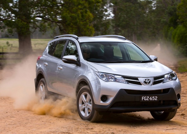 Toyota RAV4 Australia August 2013. Picture courtesy of caradvice.com.au