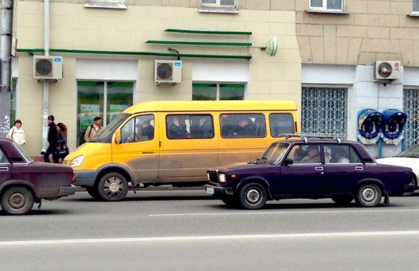 23 GAZ Gazelle Lada 2105