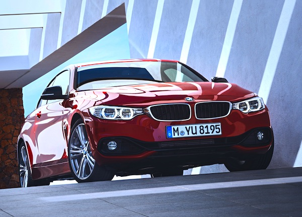 BMW 4 Series Italy September 2013