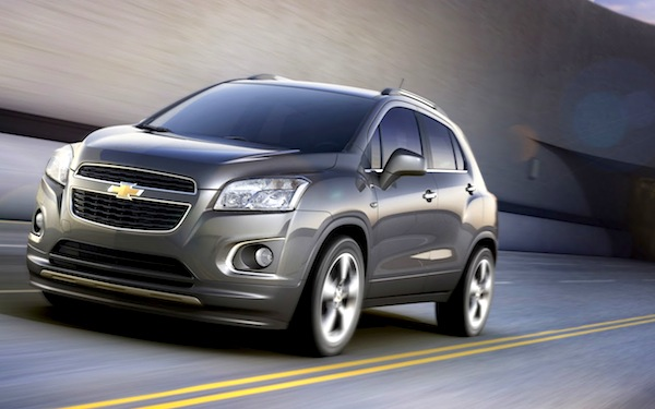 Chevrolet Tracker Argentina September 2013