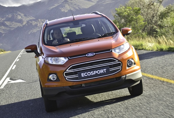 Ford Ecosport South Africa September 2013