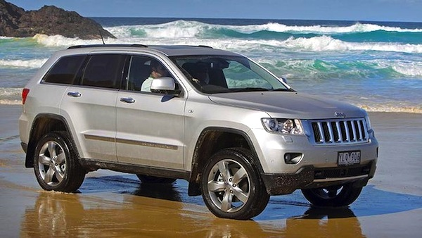 Jeep Grand Cherokee Australia September 2013. Picture courtesy of drive.com.au