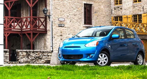 Mitsubishi Mirage Puerto Rico September 2013. Picture courtesy of autogo.ca