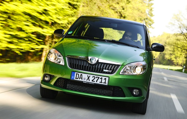 Skoda Fabia Serbia April 2014. Picture courtesy of autobild.de