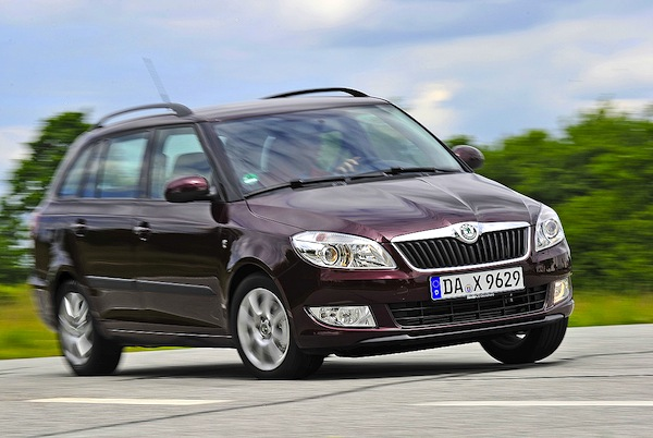 Skoda Fabia Germany May 2014. Picture courtesy of autobild.de