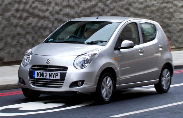 Suzuki Alto Wales September 2013. Picture courtesy of telegraph.co.uk