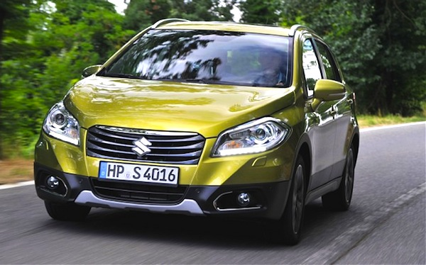 Suzuki SX4 S-Cross Hungary September 2013