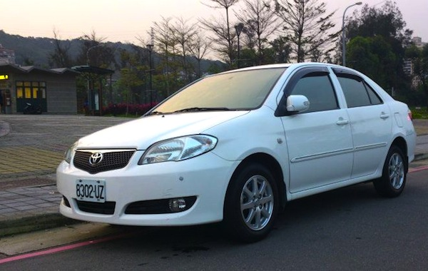 Toyota Vios Taiwan September 2013. Picture courtesy of p1.8891.com.tw