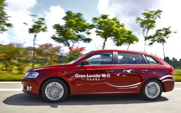 VW Gran Lavida China September 2013. Picture courtesy of auto.itc.cn