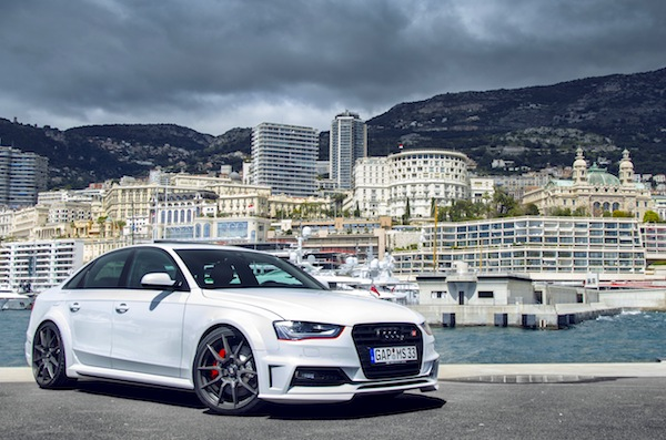 Audi A4 Monaco 2013. Picture courtesy of Bas Fransen via Flickr