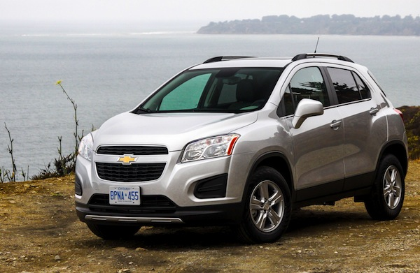 Chevrolet Tracker Colombia October 2013