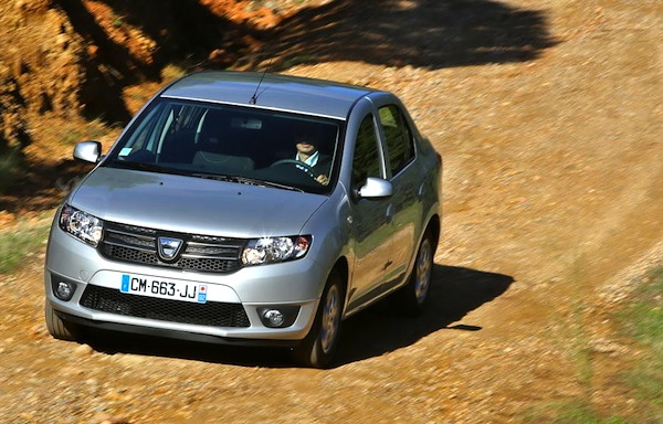 Dacia Logan France October 2013. Picture courtesy of largus.fr