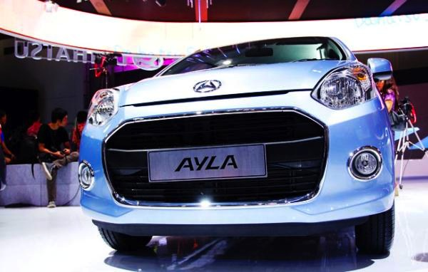Daihatsu Ayla Indonesia October 2013. Picture of viva.co.id