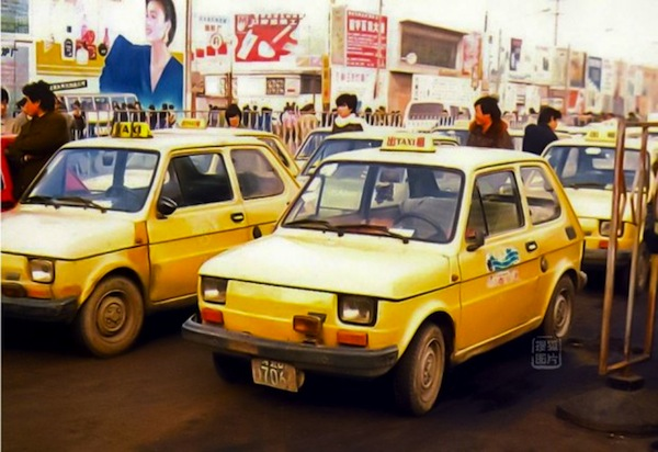 Fiat 126P China 1980. Picture courtesy of chinacartimes.com