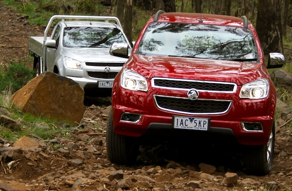 Holden Colorado Australia October 2013. Picture courtesy of themotorreport.com.au
