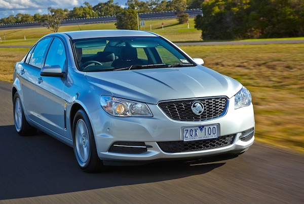 Holden Commodore Australia October 2013