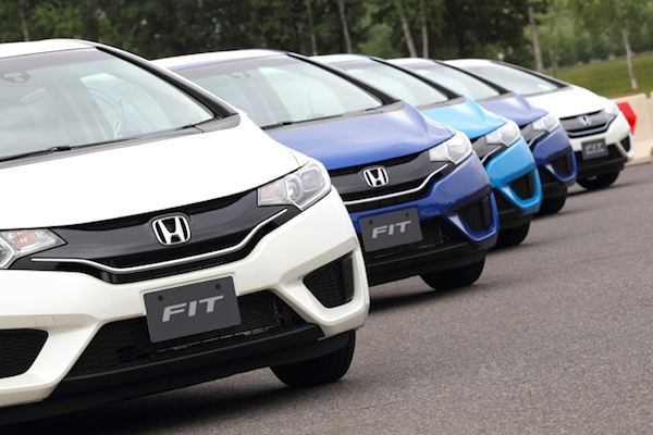 Honda Fit Japan April 2014. Picture courtesy of autoc-one.jp
