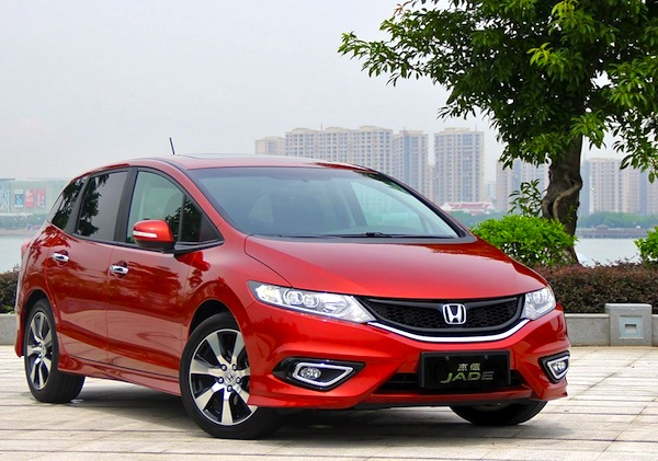 Honda Jade China October 2013. Picture courtesy of xgo.com.cn