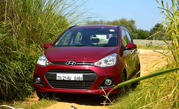 Hyundai Grand i10 India October 2013. Picture courtesy of cardekho.com