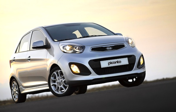Kia Picanto Israel October 2013